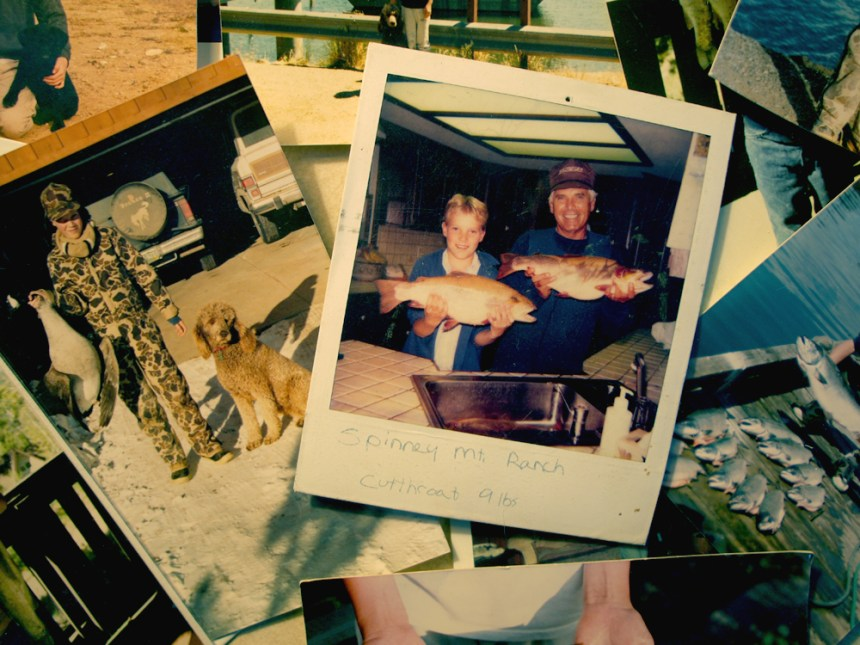 My stepdad and me after an exceptional day of fishing at Spinney Mountain in 1985. As a child of the 80s, these Polaroid photos are some of my favorites.