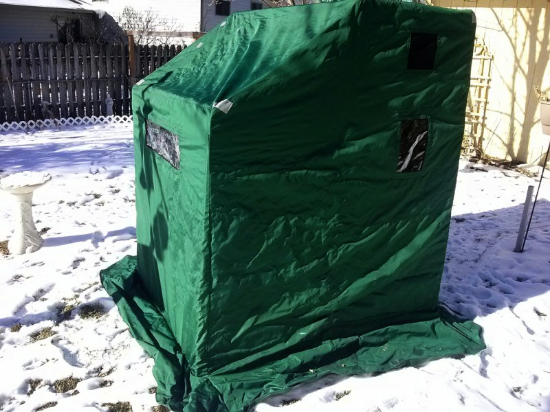 shelter in yard