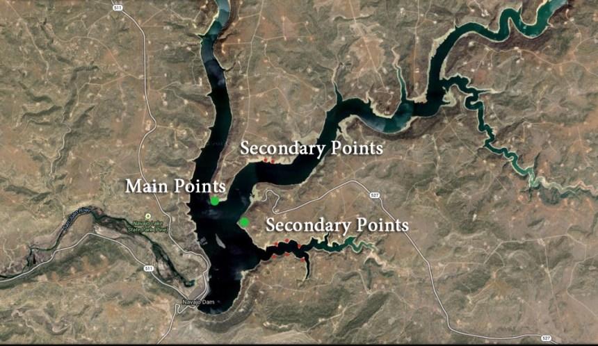 Navajo Reservoir.
