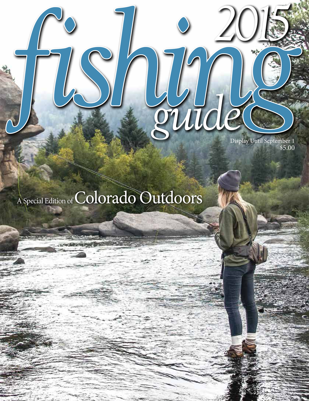 Faux fish practice catch and release with reproduction for Colorado fishing guide
