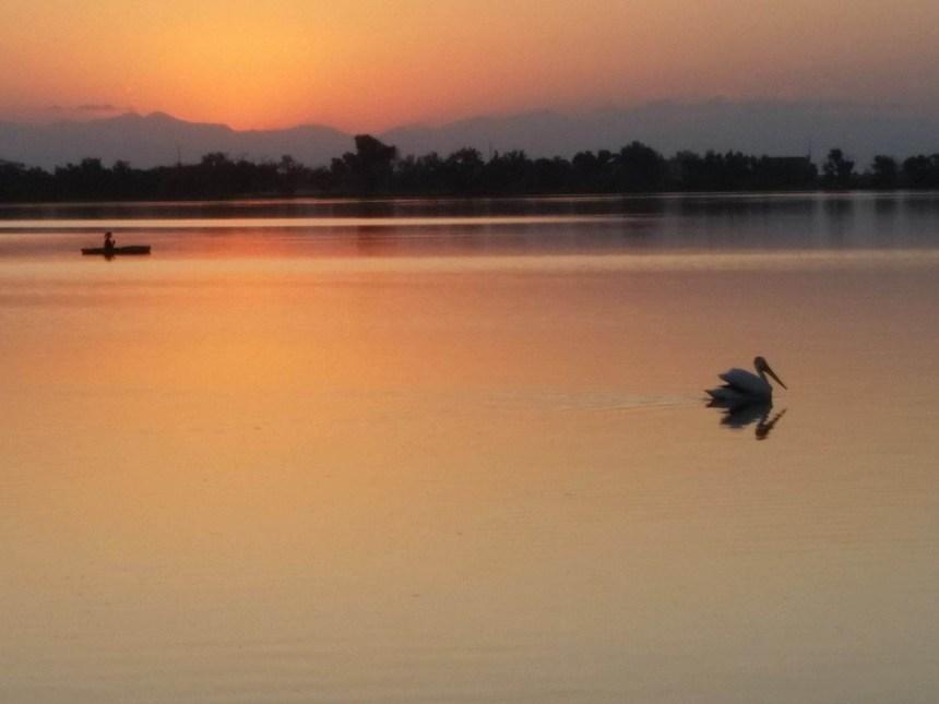Sunset-Barr Lake
