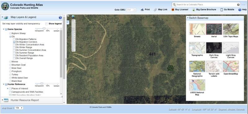 Colorado Hunting Atlas