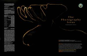 2017 Photography Issue Contents