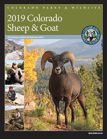 2019 Colorado Sheep and Goat Brochure Cover