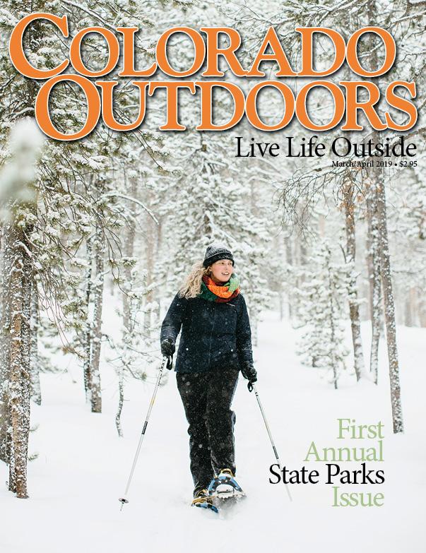 Colorado Outdoors Magazine Cover