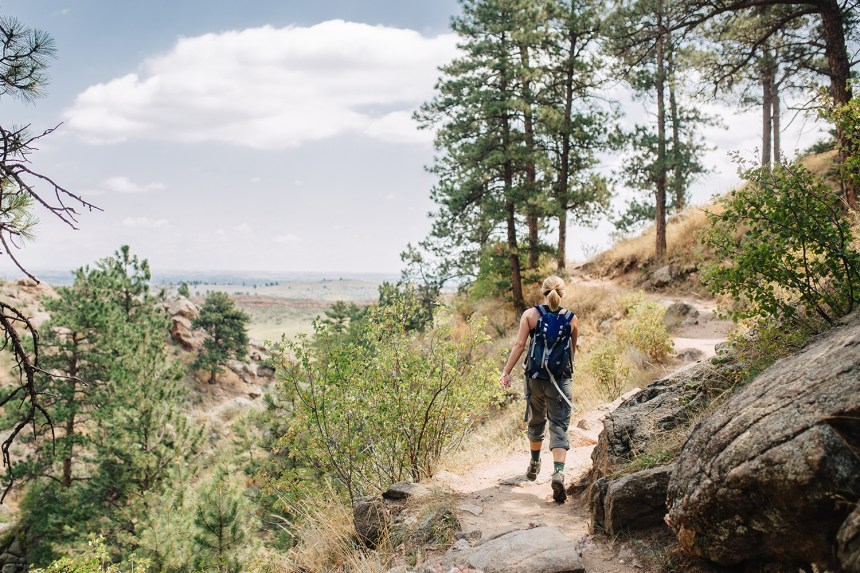 Arthur's Rock trail at Lory State Park
