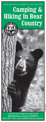 Camping and Hiking in Bear Country brochure cover
