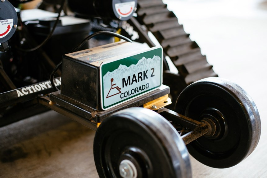 Mark 2 Trackchair named after  Mark Madsen