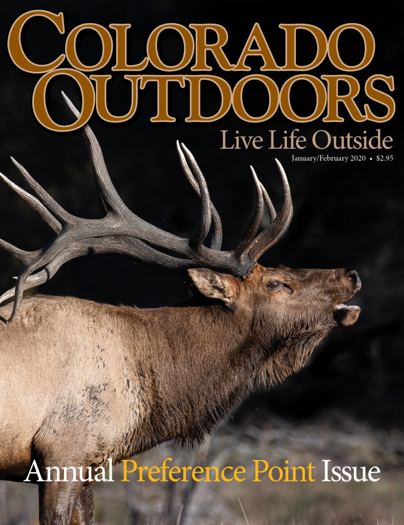 2020 Colorado Outdoors Preference Point Issue Cover
