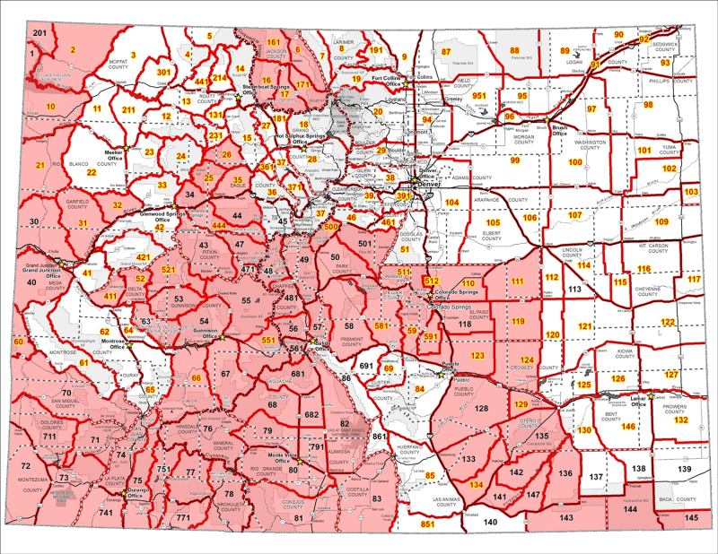 Mandatory Deer CWD Testing Map