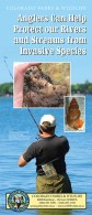 Aquatic Nuisance Species (ANS) Angler Information brochure cover