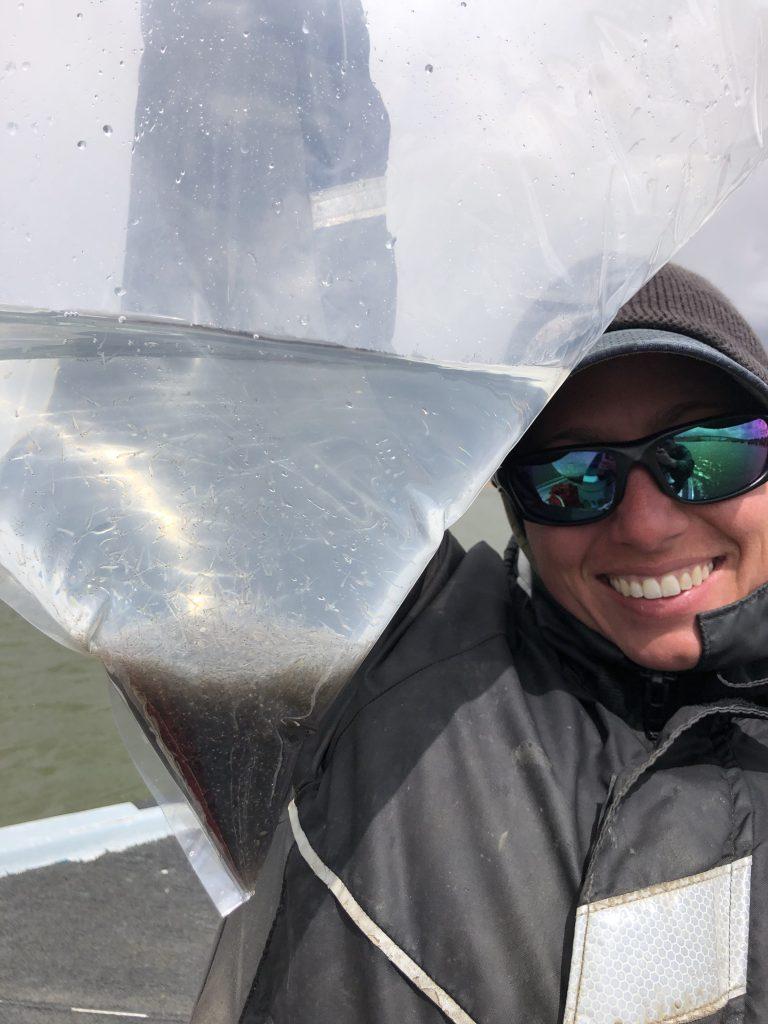Aquatic Biologist Carrie Tucker