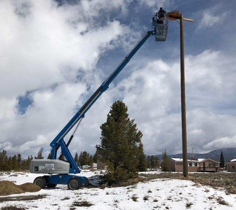 60-foot lift