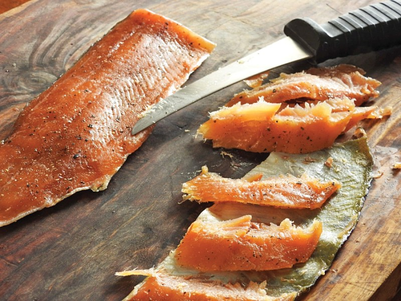 Cold-Smoked Trout Fillets