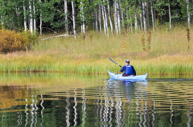 kayaking Pearl Lake State Park