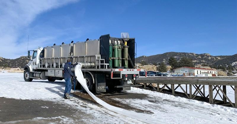 CPW stocking truck