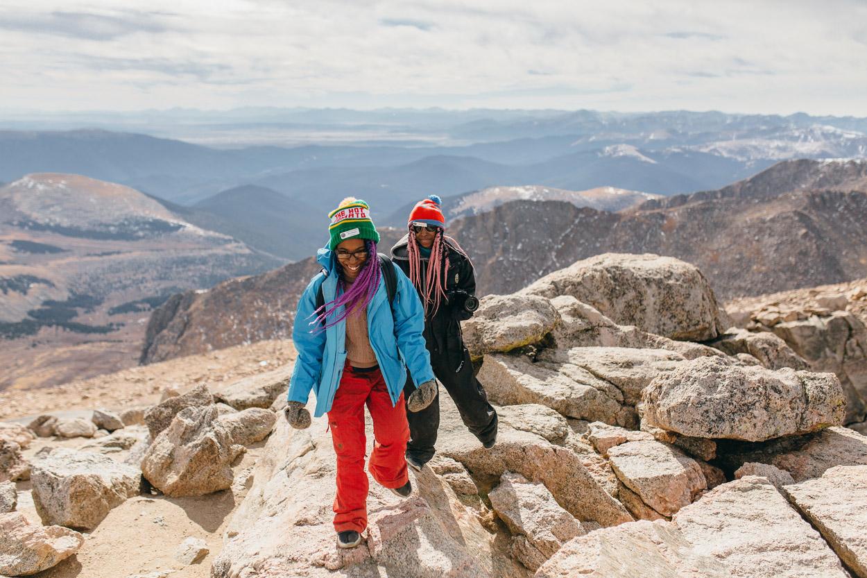 Hiking Mt. Evans