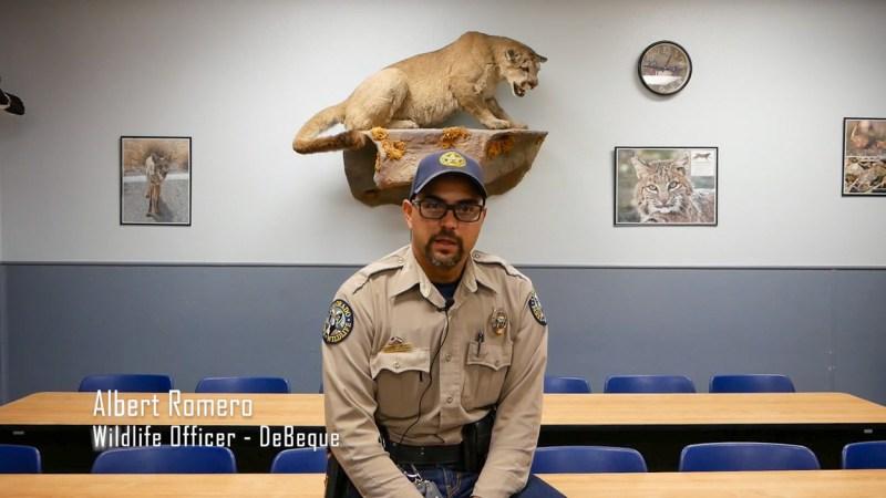 Wildlife Officer Albert Romero