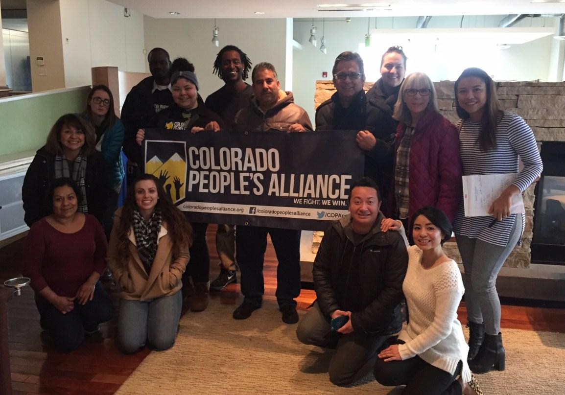 Colorado People's Alliance. COPA. Racial Justice.