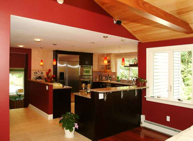 living room and kitchen paint colors modern curtain designs pictures choosing for your colorado pros