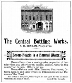 Belvidere Theater ad