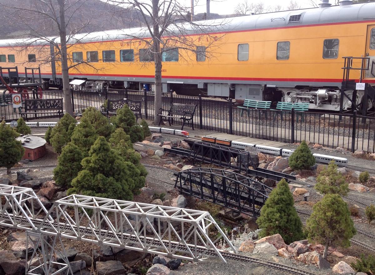 Model Train Club Operations Colorado Railroad Museum