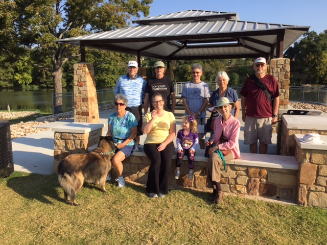 Round Rock YRE group walk Oct 2015