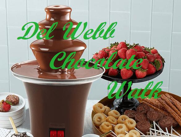 Del Webb Chocolate Walk in San Antonio on Feb 8th