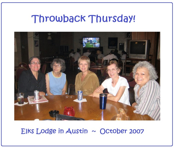Elks Lodge – Oct 2007