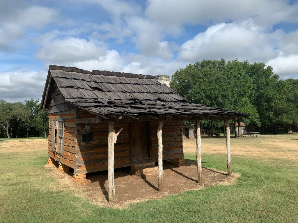 Mather Cabin at Old Settlers Park