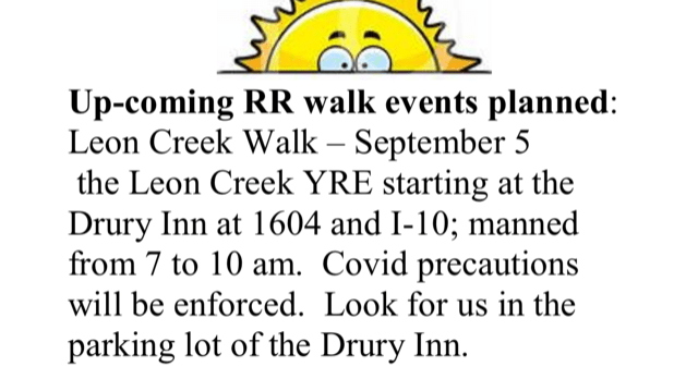 Leon Creek YRE notification