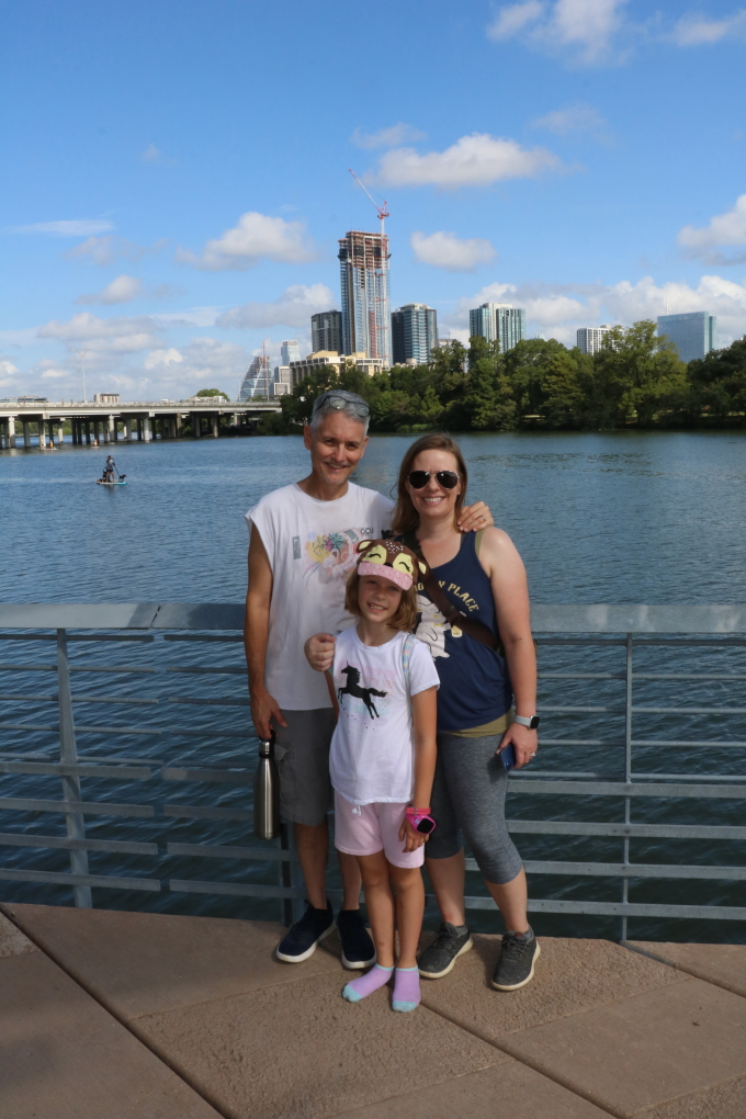 Pictures from Lady Bird Lake Walk on Aug 28th