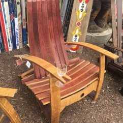Adirondack Wine Barrel Chairs Kmart Office Chair Mat Comfort Style Outdoor Seating At Our Are The Best