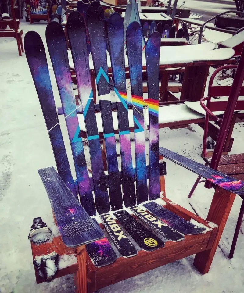 best adirondack chairs pink elastic chair covers dark side of the moon (pink floyd inspired) ski