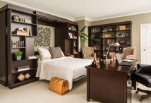 Bedroom Office with Murphy Bed