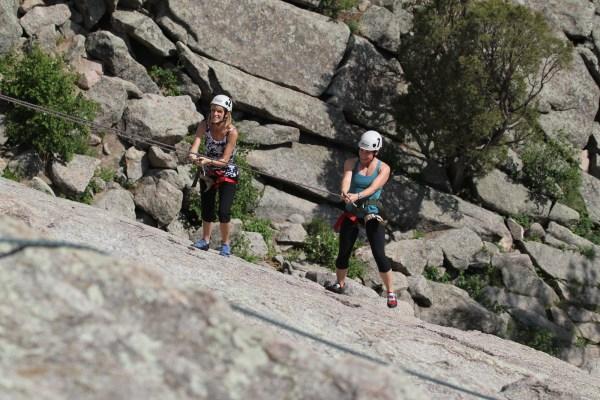 Adventure Rock Climbing Day