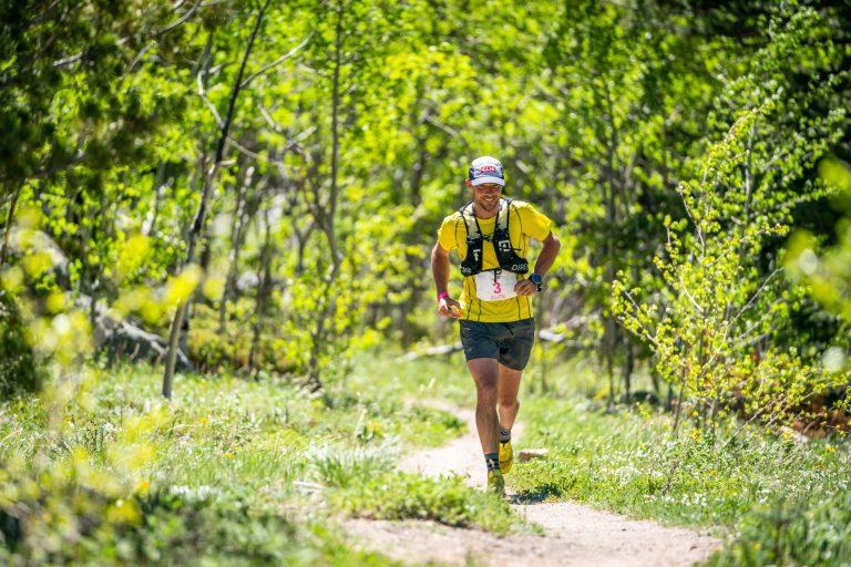 Runner at Dirty 30 Running Race