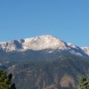 Pikes Peak Dusted with Snow