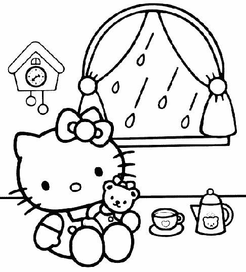 Disegni Di Hello Kitty Disegni Per Bambini Da Stampare E