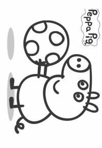 Peppa Pig Disegni Da Colorare Online Disegno Di George Peppa