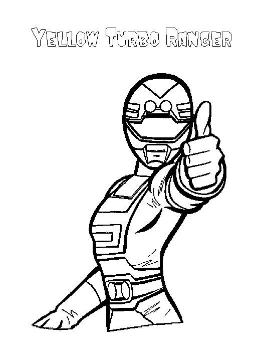 Power Rangers, Disegni per bambini da colorare