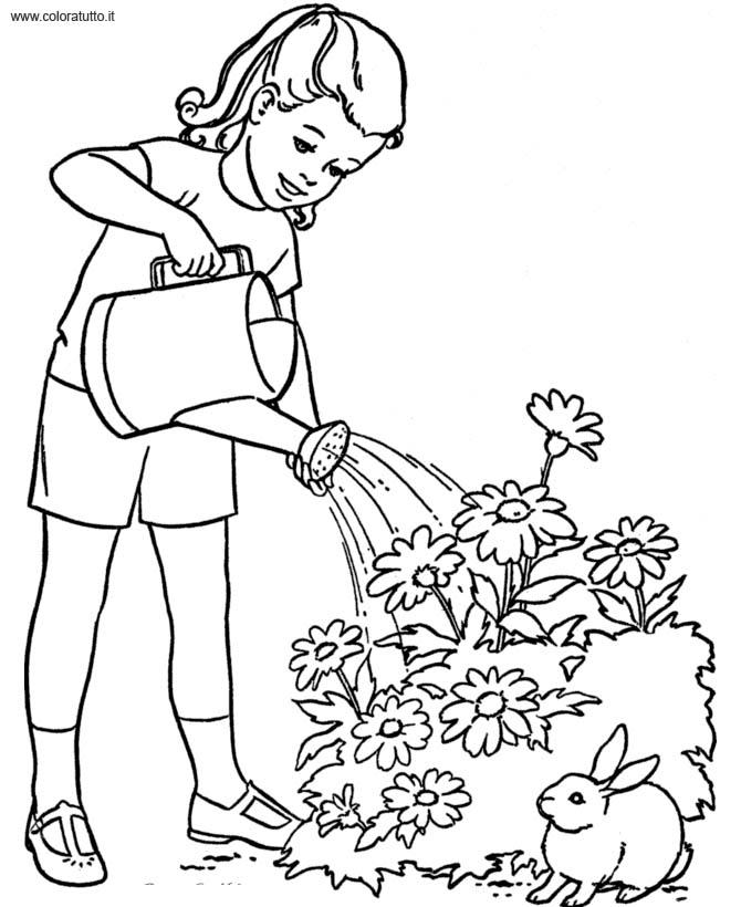 Primavera 75, Disegni per bambini da colorare