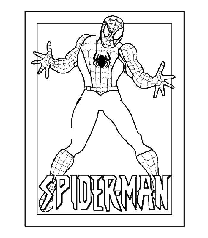 Spiderman 4 Disegni Per Bambini Da Colorare