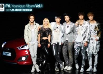 Younique Unit (Eunhyuk, Hyoyeon, Taemin, Henry, Kai and Luhan) – Maxstep