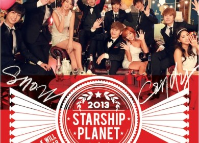 Starship Planet (K.Will, SISTAR, & Boyfriend) – Snow Candy (눈사탕)
