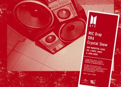防弾少年団 (BTS) – Crystal Snow