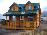 Big or Small Log Homes | Color Country Painting