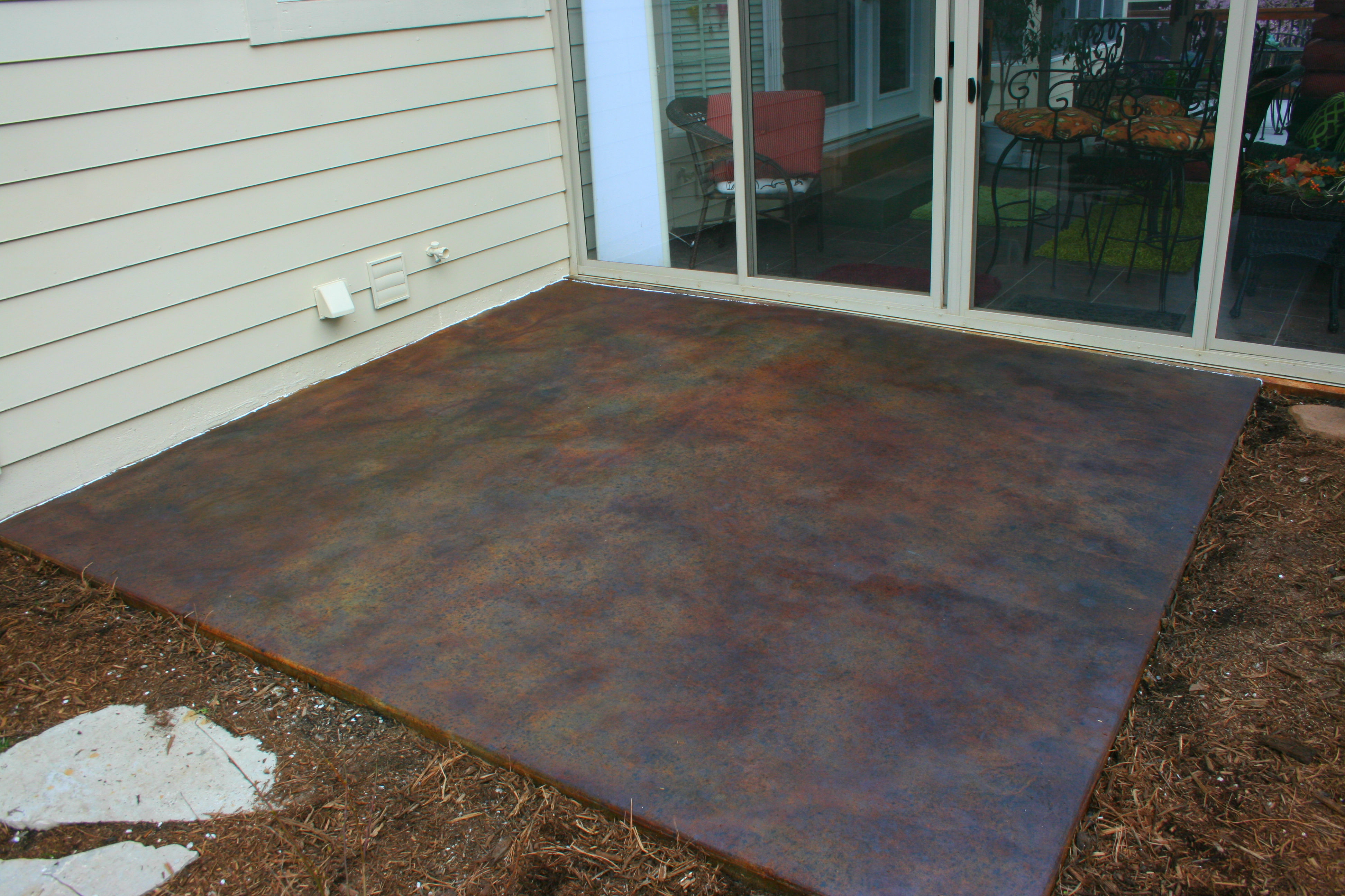 stained cement the color craftsmen