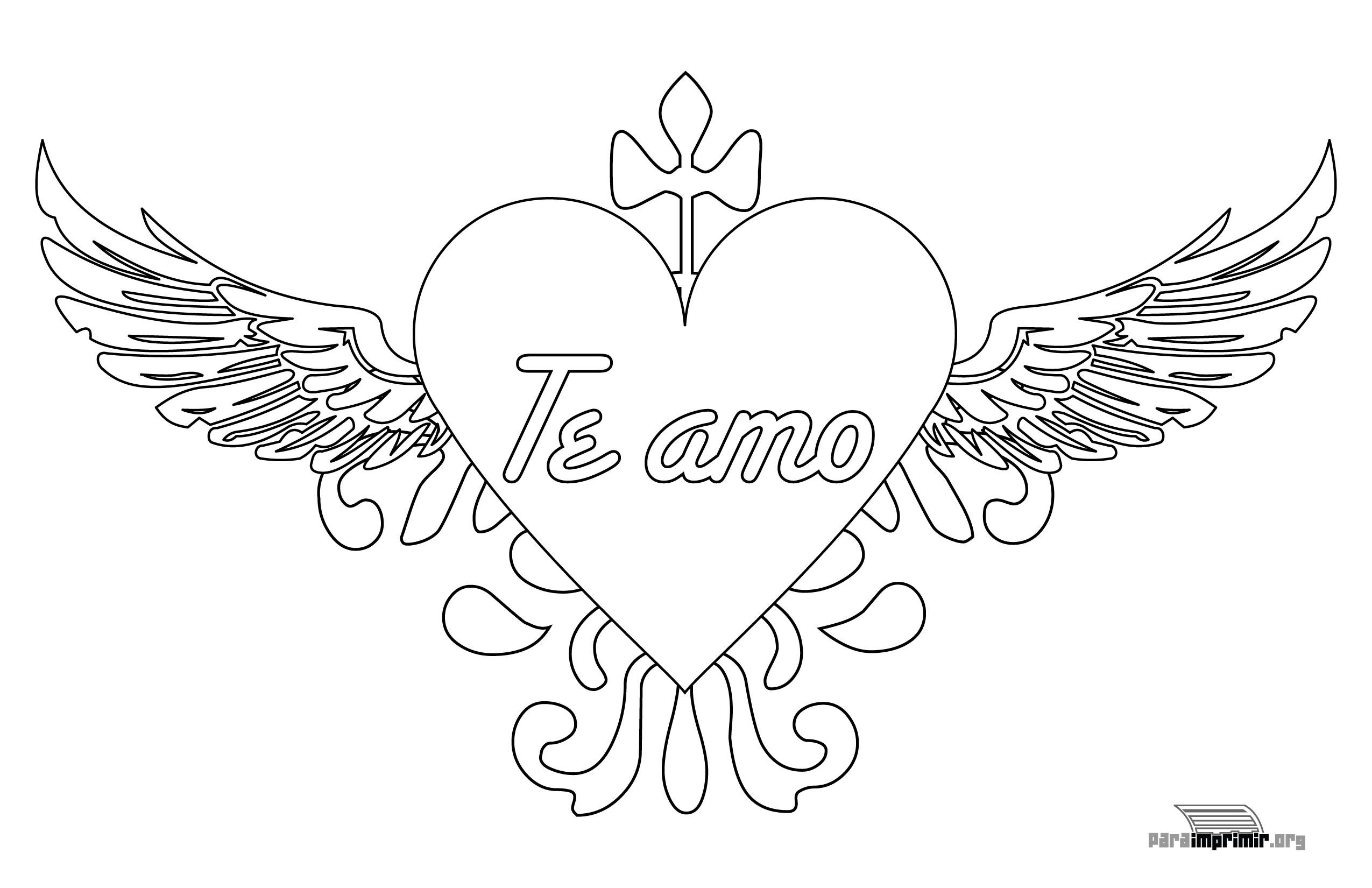 Dibujos Faciles Para Dibujar De Amor Con Frases