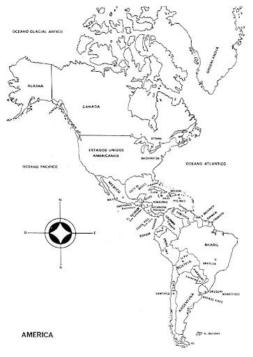 Globo Terraqueo Para Colorear Mapa